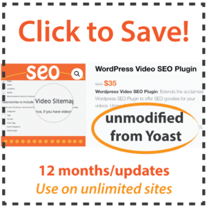 Yoast Video SEO Plugin Discount Code? Download it for 50% less!